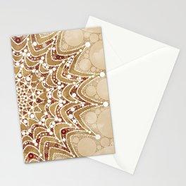 Abstract Mandala Design Stationery Cards