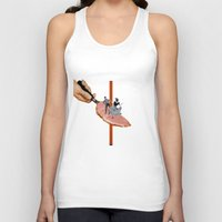 dancing Tank Tops featuring Dancing by Lerson