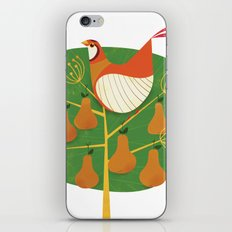 First Day of Christmas iPhone & iPod Skin