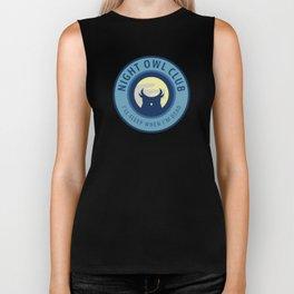 Night Owl Club Biker Tank
