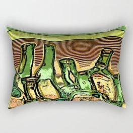 Last Call At The Cantina Rectangular Pillow