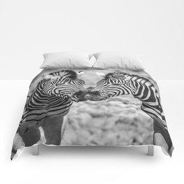 B&W Zebra 3 Comforters