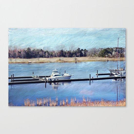 Charleston Boat Canvas Print