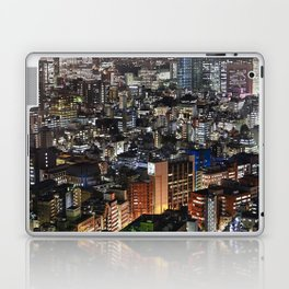 Tokyo Buildings at Night Laptop & iPad Skin