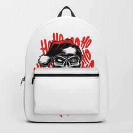 Santa Claus Skull Backpack