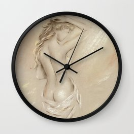 Goddess of the Dawn Wall Clock