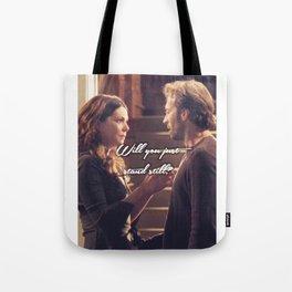 Luke and Lorelai - Stand Still Tote Bag