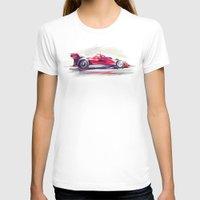 racing T-shirts featuring racing car2 by tatiana-teni