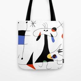 Joan Miro The Sun (El Sol) 1949 Painting Artwork For Prints Posters Tshirts Bags Women Men Kids Tote Bag