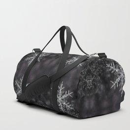 January Snowflake #7 Duffle Bag