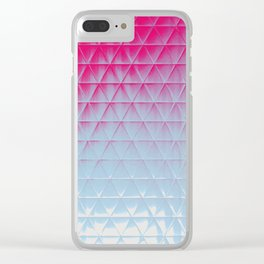 Frosted glass Clear iPhone Case