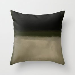 Rothko Inspired #5 Throw Pillow