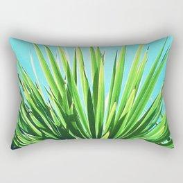 Solar Yucca Palm Rectangular Pillow