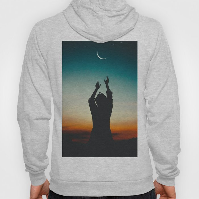 Reaching to the moon Hoody