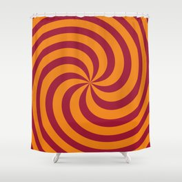 Color Swirl I Shower Curtain