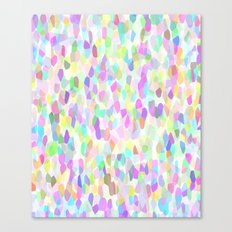 Pastell Pattern Canvas Print