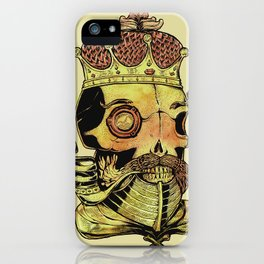 Caveira Rei dos Mares iPhone Case