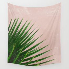 Summer Time | Palm Leaves Photo Wall Tapestry