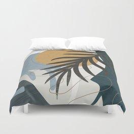 Abstract Tropical Art II Duvet Cover
