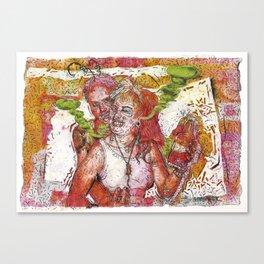 Copper Feels Canvas Print