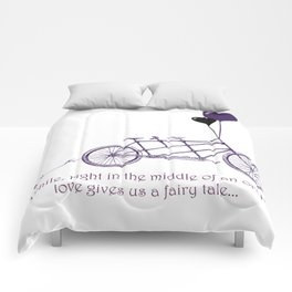 Tandem Bicycle Fairytale Comforters