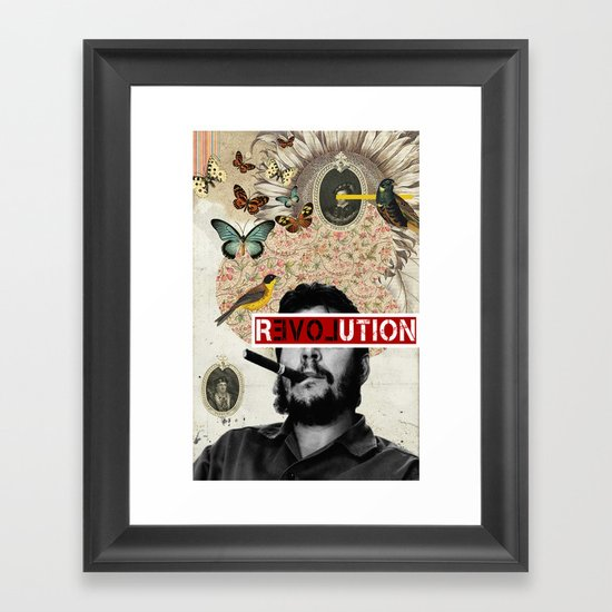 Public Figures Collection - Che Guevara Framed Art Print