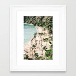 Tropical Island III Framed Art Print