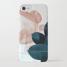 Plant Leaves, Tropical Leaves, Botanical iPhone 7 Slim Case