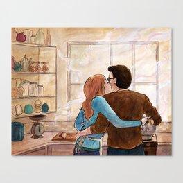 Secret Recipe Canvas Print
