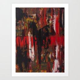 Trash Polka Abstract Art Print