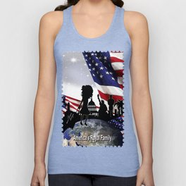 Americas Royal Family Unisex Tank Top