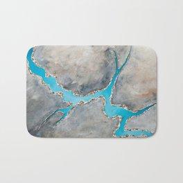 Sedimentary Topography Extended 2 Bath Mat