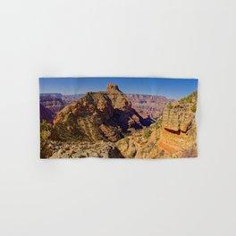 Coronado Butte viewed from the New Hance Trail Grand Canyon AZ Hand & Bath Towel