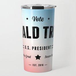 Vote Donald Trump Travel Mug