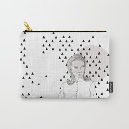 the skeptical lady Carry-All Pouch