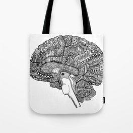 The brain Tote Bag