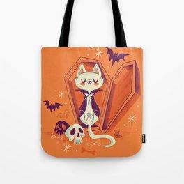 Vampire Kitty Tote Bag