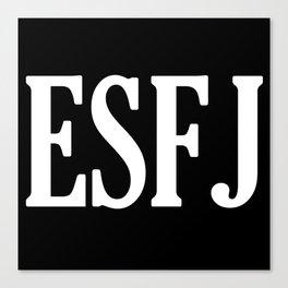 ESFJ Personality Type Canvas Print