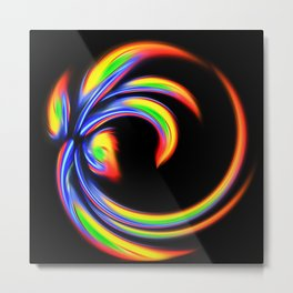 Abstract Perfection 27 Metal Print