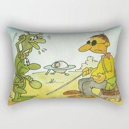 First Contact! Rectangular Pillow