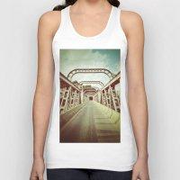 bridge Tank Tops featuring Bridge by César Ovalle