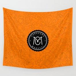 Orange Canovaro Manetti  Wall Tapestry