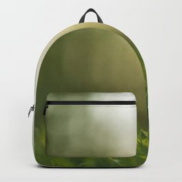Alone in the grass Backpack
