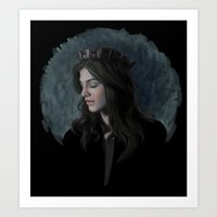 ruby Art Prints featuring Ruby by Armellin