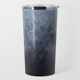 Blue veiled moon Travel Mug