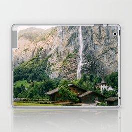Lauterbrunnen Waterfall Laptop & iPad Skin