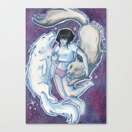 Demons Canvas Print