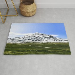 A New Identity for Denali  North Americas highest peak Rug