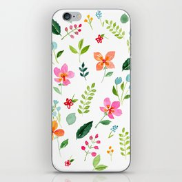 All Things Bright - White iPhone Skin