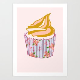 Cute as a cupcake! Art Print